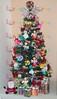 Árvore De Natal Com Origamis