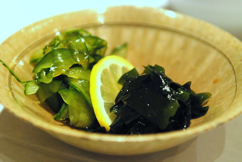 Wakame Seaweed and Cucumber