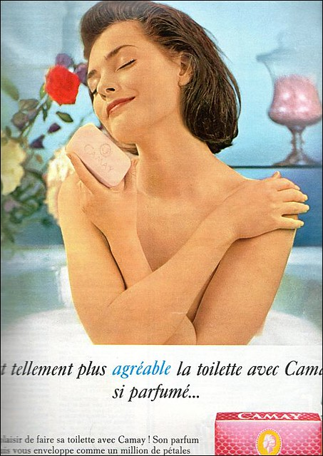 the 1960s-ad for Camay soap