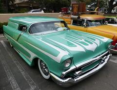 Custom Chevrolet (bballchico) Tags: chevrolet stationwagon custom chopped scallops westcoastkustomscruisinnationals santamariaca carshow