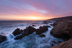 Sonoma Coast (Bob Bowman Photography) Tags: seascape sunset color rocks water ocean sea waterscape waves light clouds california northerncalifornia sonomacounty sonomacoast