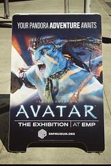 Avatar (goodfella2459) Tags: nikon f65 kodak 200 35mm c41 film analog colour seattle science fiction museum emp avatar sign exhibition james cameron movies milf