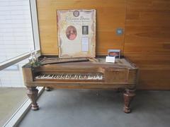 Beauvoir Varina's piano (JuralMS) Tags: unitedstates mississippi harrisoncounty biloxi biloxi2017 2017 beauvoir antebellumhouses nationalhistoriclandmarks libraries museums jeffersondavispresidentiallibrary