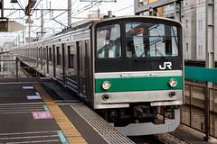 Saikyo Line 205 series 002 (A.S. Kevin N.V.M.M. Chung) Tags: train rail japan omiya jr