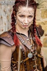 IMG_9483.jpg (Neil Keogh Photography) Tags: silver whitbygothweekend steampunk sword shoulderguards viking brown steampunkdress armguards red warrior goth armour blouse whitby top female woman whitbygothicweekendapril2017 facepaint black gothic trousers leather waistcoat white