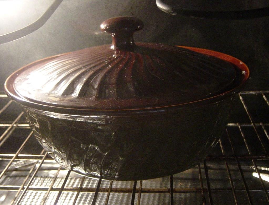 Paula Deen's Stoneware Casserole Dish