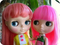 Pink Hair Ladies