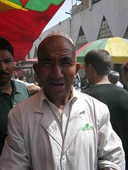 Very loud Uyghur man