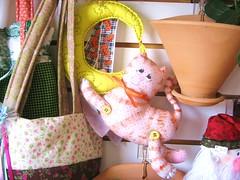 Gato da Lua (Sissi Terra) Tags: moon cat pano craft fabric gato lua tecido almaterra