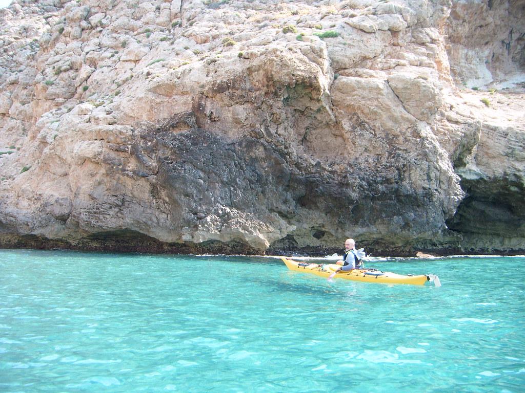 Cabo de Gata en kayak 622