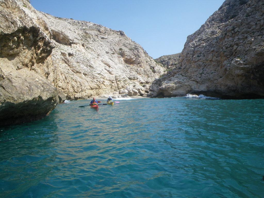 Cabo de Gata en kayak 113
