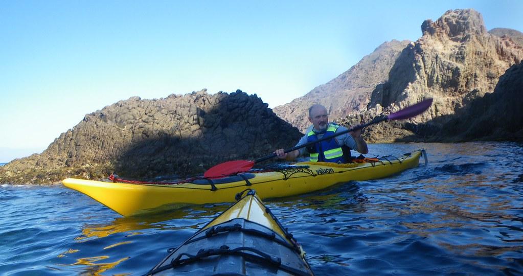 Cabo de Gata en kayak 554