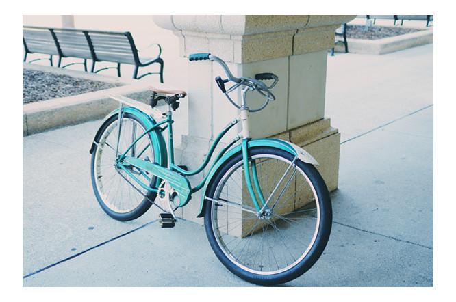 Vintage bike- St. Augustine FL