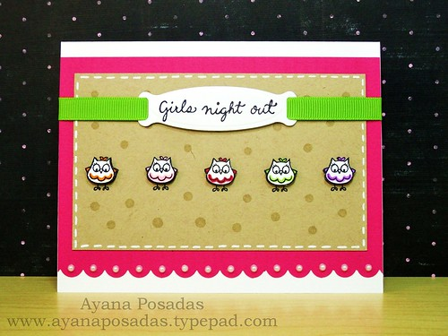 Owls- Girls Night Out (1)