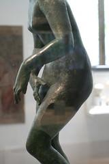 Detail of Praxiteles' Aphrodite (BrassIvyDesigns) Tags: bronze greek ancient aphrodite metropolitanmuseumofart praxiteles