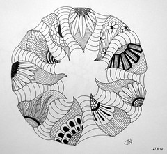 Riot Proof (Jo in NZ) Tags: pen drawing line doodle innk zentangle nzjo zendoodle