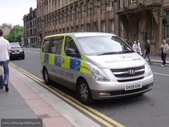Hyundai i800 Glasgow (seifracing) Tags: seifracing hyundai i800 glasgow police armed day 2010 van ek09eou