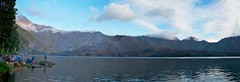 Danau Anak Segara (michael_gaylord) Tags: mountain lake indonesia volcano nikon crater craterlake rim lombok d300 gunungrinjani activevolcano nusatengara barujari