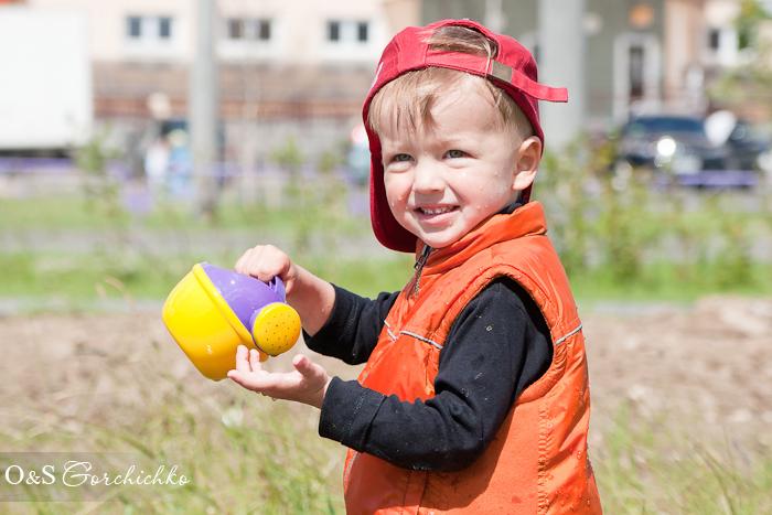 Фотосессия-акция от детского фотографа. По лужам!