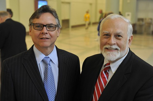 The Rev. Dr. Lee Barker and the Rev. Nick Carter