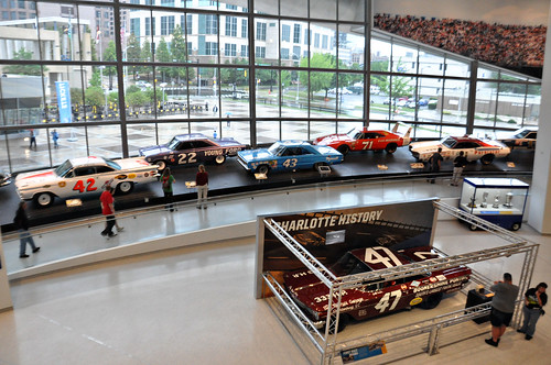 NASCAR Hall of Fame - Charlotte, NC - 5/31/10