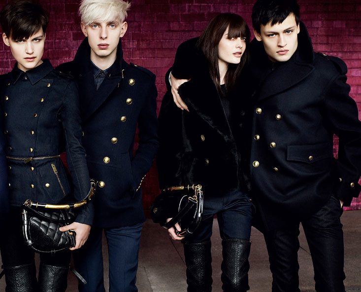 Burberry FW10 Ad Campaign0002(Official)