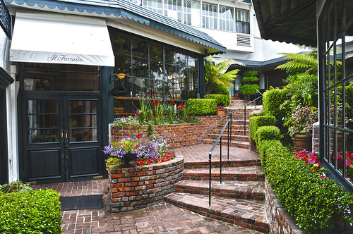 A Beautiful Courtyard in Carmel By The Sea