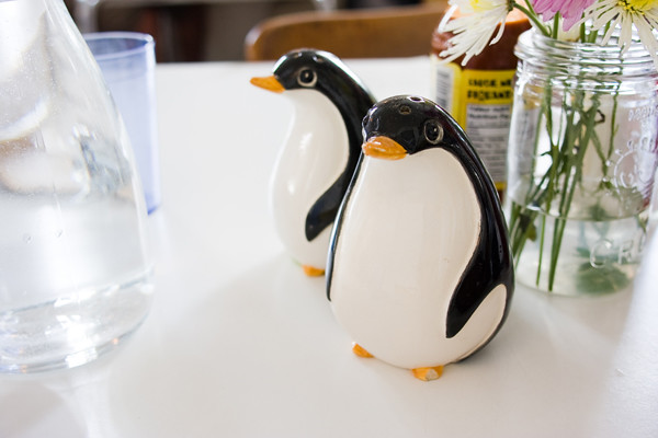 salt + pepper penguins