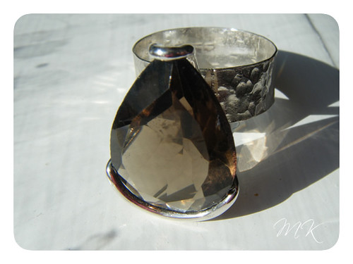smokey quartz ring 5