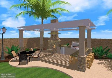 Outdoor Entertaining Area Designs on Small Backyard Entertainment Area Ideas id=55977