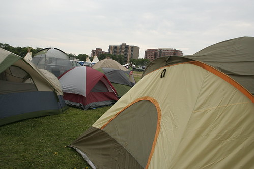 Tents on the Common