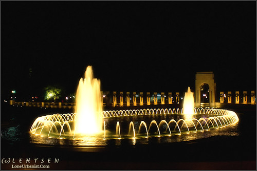 A Night at the World War II Memorial