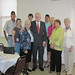 Foxx w/ WWII Veteran John Collins & family