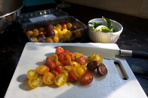 tomato choppage