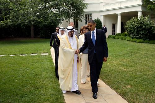Obama ties to Saudi Arabian sheikhs.
