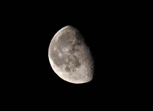 フリー写真素材, 自然・風景, 空, 夜空, 月,
