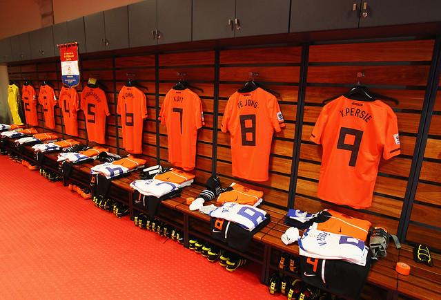 vestidor Holanda cuartos de Final