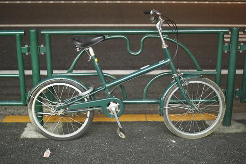 ... に買った、無印良品の自転車