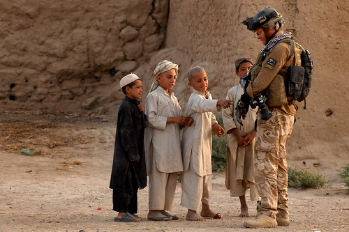 Patrolling in Kandahar