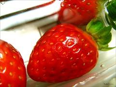 - Morngos. (Rafael Acorsi) Tags: macro frutas fruits strawberries fruta morango straw