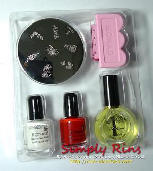Konad Stamping Nail Art 002