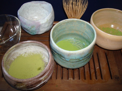 Three Matcha Powders