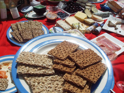 Ryvita Spread at Fernandez and Leluu's Henley Picnic