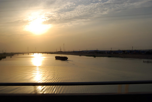 j61 - Sunset on Qinhuaixin River