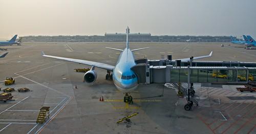 Korean Airbus en Incheon