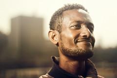 Solomon (Jeremy Snell) Tags: africa street city portrait feet 50mm sketch chalk paint artist 14 ethiopia addis solomon ababa