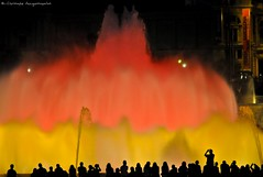 Waters of Magic (Christophe_A) Tags: barcelona red fountain yellow night spain nikon colorful waters christophe magical espanya d90 lafonte christopheanagnostopoulos χριστοφοροσαναγνωστοπουλοσ χριστόφοροσαναγνωστόπουλοσ