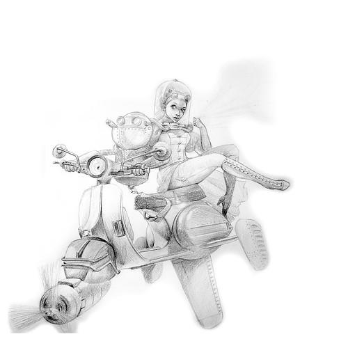 WIP - Skyspa sketch