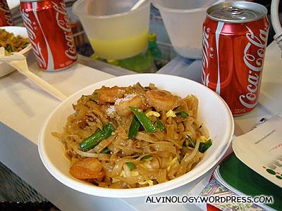 My dinner - Phad Thai