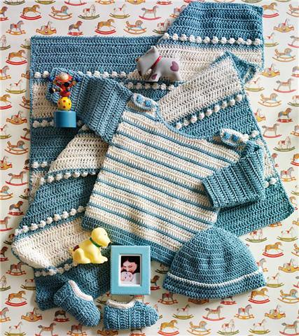 knit simple layette